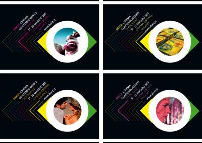 Brasil Film Festival postcards 2011