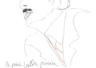 Illustration/ Portrait of Trilussa