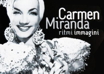 Leaflet for Carmen Miranda event