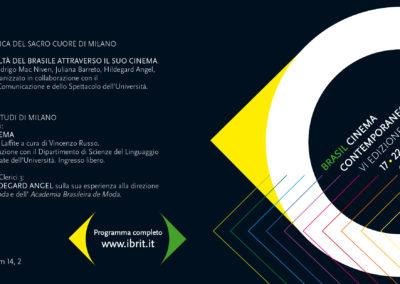 Brasil Film Festival leaflet 2011